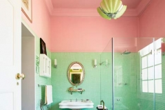 ceiling colour bathroom