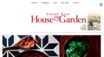 House and Garden website