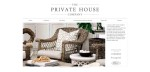 The Private House Company website