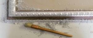 silver leafing frame