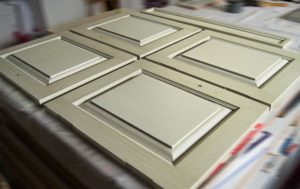 glaze paint-finish doors